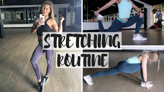 My Pre-Workout Stretching Routine | Simple & Effective