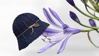 ((코바늘))  알로하 여름 모자