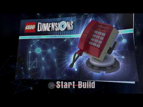 Lego Dimensions - Phone Home Building Instructions - E.T. The Extra Terrestrial