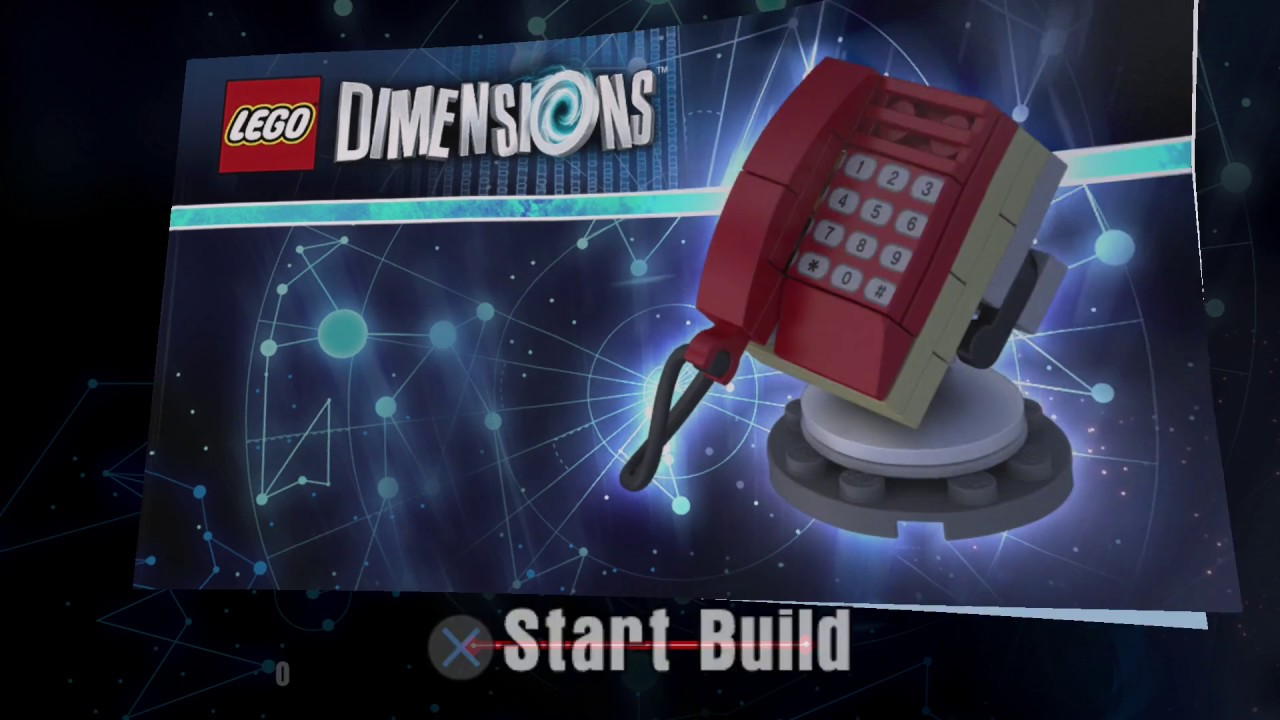 Lego Dimensions Phone Home Building Instructions Et The Extra