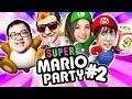 OFFLINETV PLAYS SUPER MARIO PARTY ft. Pokimane, Scarra, LilyPichu & Fedmyster Part #2