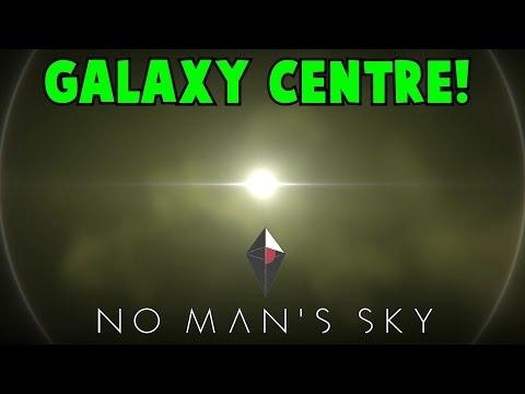 The Galactic Center! No Man's Sky