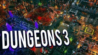 NEXT DUNGEON KEEPER! MANAGE YOUR OWN EVIL DUNGEON!   DUNGEONS 3 GAMEPLAY LETS PLAY