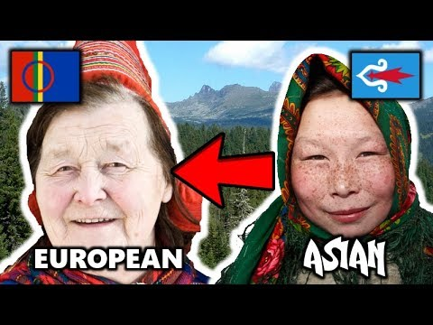 The Connection Between Whites and Asians? Genetics of the Sami, Ainu and Siberian Peopels