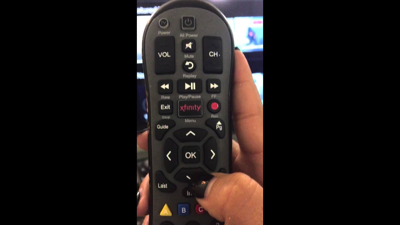 How To Navigate Through On Demand Using Xfinity Remote Youtube