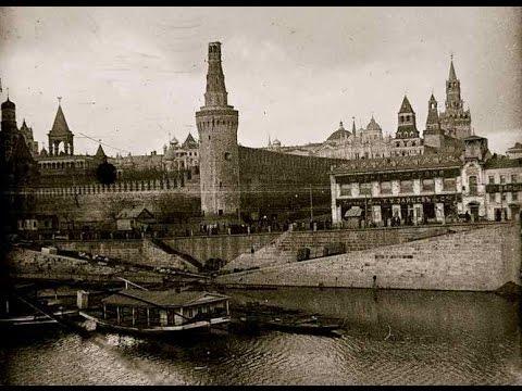 The Moscow Kremlin after the Bolshevik shelling in November 1917