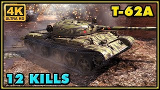 World of Tanks | T-62A - 12 Kills - 8,2K Damage Gameplay