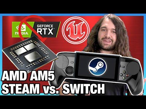 """HW News - AMD AM5 Big Changes, Windows """"11,"""" Steam's Switch Competitor, & PCIe Gen6"""