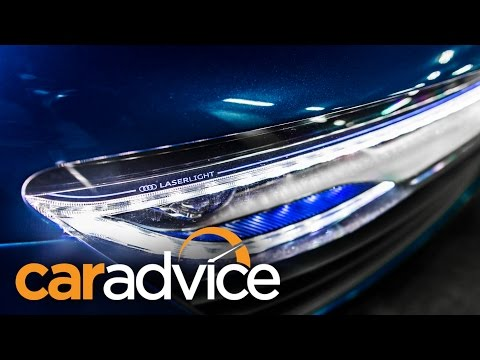 Headlight Comparison : Laser v LED v HID Xenon v Halogen