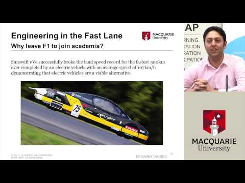 Engineering in the Fast Lane - LEAP Links Video Conference