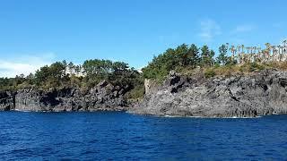 제주 퍼시픽랜드 샹그릴라요트투어 대포주상절리 풍경