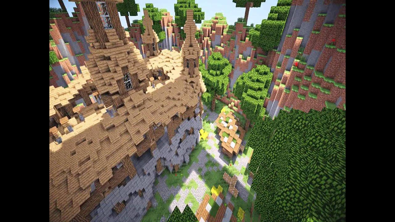 Minecraft - Pvp arena [schematic] - YouTube