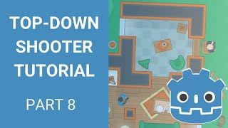 Godot Top-down Shooter Tutorial - Part 8 (Enemy AI and Shooting)