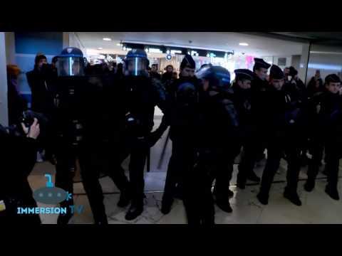 Paris : la manif sauvage des antifas au Forum des Halles tourne court