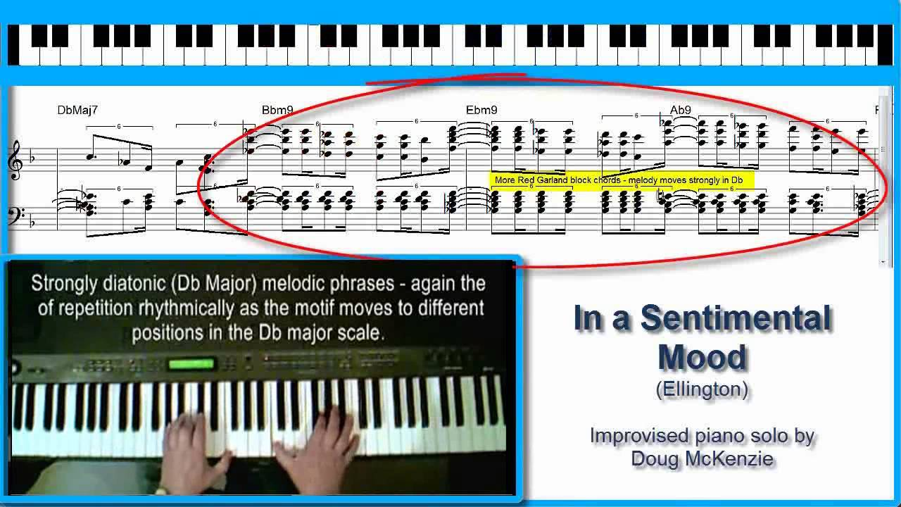 In a sentimental mood jazz piano tutorial youtube in a sentimental mood jazz piano tutorial youtube hexwebz Images