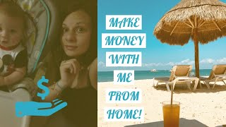 Make Money Mailing Postcards Mail Flyers Work From Home Business Work At Home