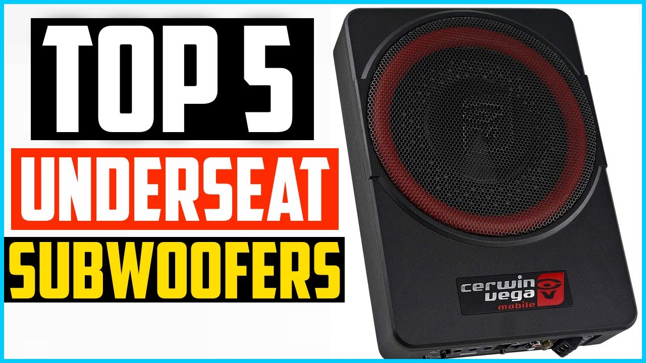 Top 5 Best Underseat Subwoofers In 2020 – Reviews and Buying Guide