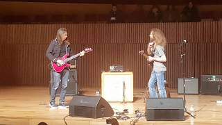 Kiko Loureiro vs Guthrie Govan (LIVE) + Tragic Final (3:59)