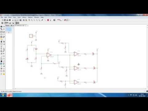 Parking Sensor Circuit using IR Transceiver and LM324 | EAGLE CAD PCB Design