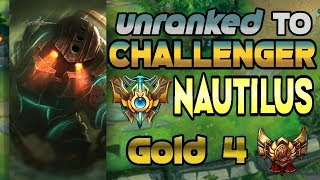 Unranked to Challenger Support Nautilus Gold 4