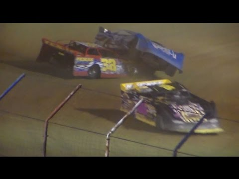 Dog Hollow Speedway - 6/10/16 Crate Late Model Wreck!
