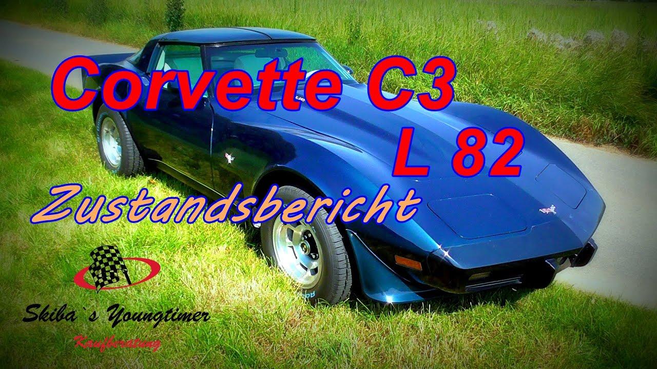 Corvette C3 L82 V8 orig. 57 tkm   I   ein Zustandsbericht