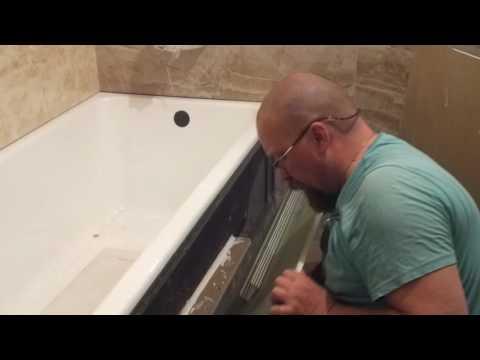 Как сделать фасад ванны, из профилей и гипсокартона. 1 часть