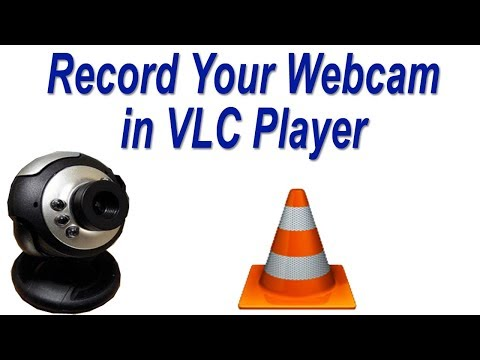 How To Record Your Webcam In VLC Media Player | Laptop Webcam Recording