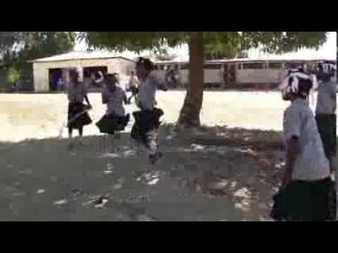 Haitian Girls Jumping Rope - Caneille Regional Development Fund