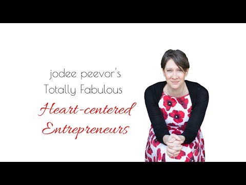 Jodee Peevor's Totally Fabulous Online Business Live Stream: Embrace your role as an entrepreneur.
