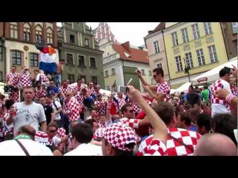 Euro 2012 - Croatian Fans In Poznan / Chorwaci W Poznaniu