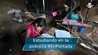 En la comunidad de Yuvinani, en la Montaña de Guerrero, padres de familia se enfrentan a la pobreza, la marginación y al rezago tecnológico, lo que les impide seguir el modelo educativo a distancia