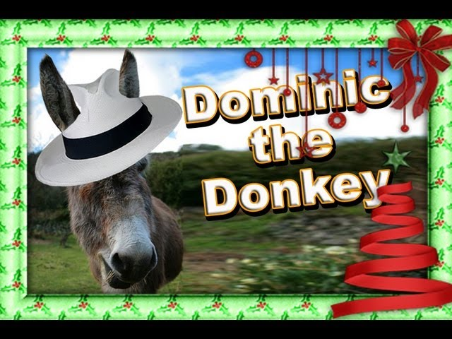 dominic the donkey the italian christmas donkey chords chordify