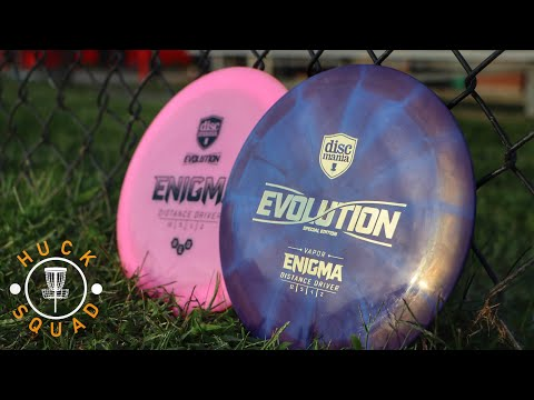 ~First Look~ at the New Discmania Vapor Enigma!