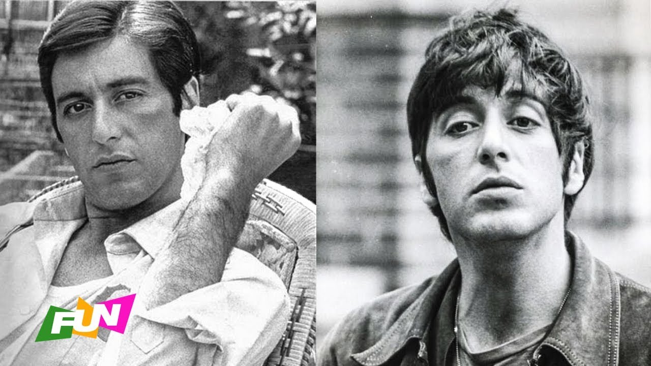 Young Al Pacino During The 1970s Black And White Portrait Youtube