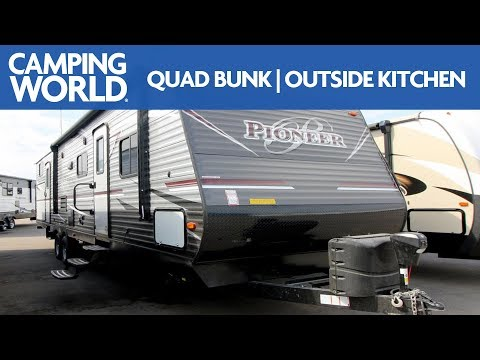 2018 Heartland Pioneer DS320   Bunkhouse Travel Trailer - RV Review: Camping World