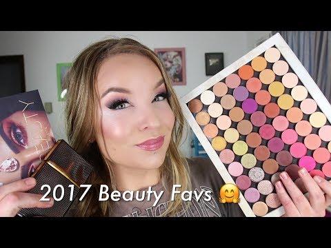 2017 Beauty Favorites : Herbivore, Sunday Riley, Wet 'n Wild, Colourpop, Viseart, Huda Beauty