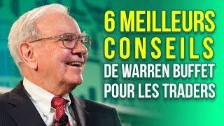 6 meilleurs conseils de Warren Buffet pour les Traders