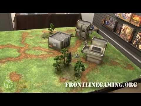 Frontline Gaming's Gaming Mats Showcased