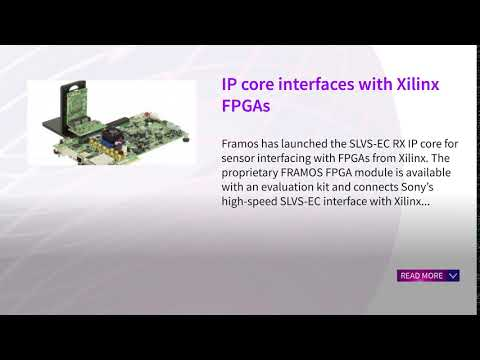 IP core interfaces with Xilinx FPGAs