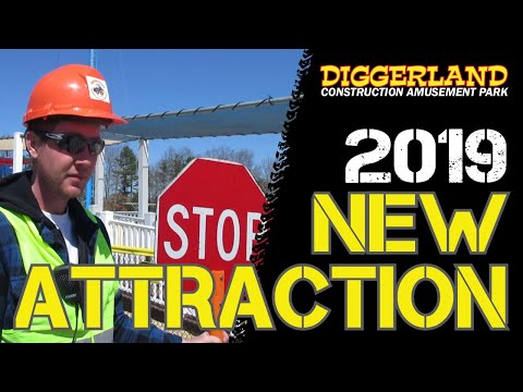 NEW Attraction For 2019!! | Diggerland USA Theme Park In New Jersey