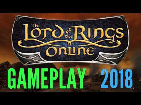 Lord of the Rings Online Gameplay 2018 (LOTRO) – All Classes & Specs in Mordor Gameplay