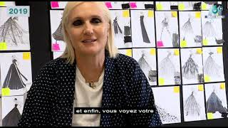 Extrait archives M6 Video Bank // Interview de Maria Grazia Chiuri (19H45 - 2019)