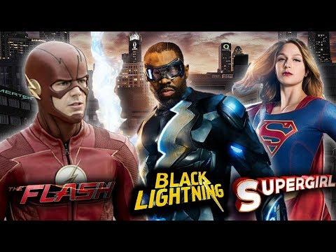 The Flash/Black Lightning/Super - Chat + Some Gaming!