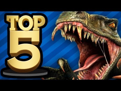 TOP 5 DINOSAUR GAMES