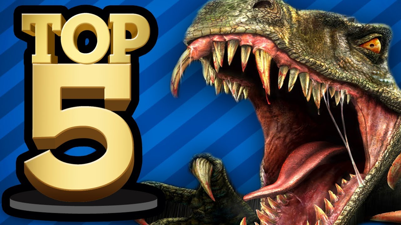 TOP 5 DINOSAUR GAMES - YouTube