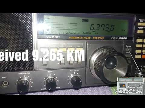 6375 kHz Radio Harmony - Europe received in Brazil