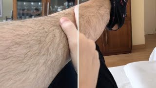 Girl Doesn't Shave Her Hairy Legs