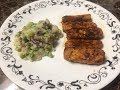 BBQ Tempeh with Potatoes