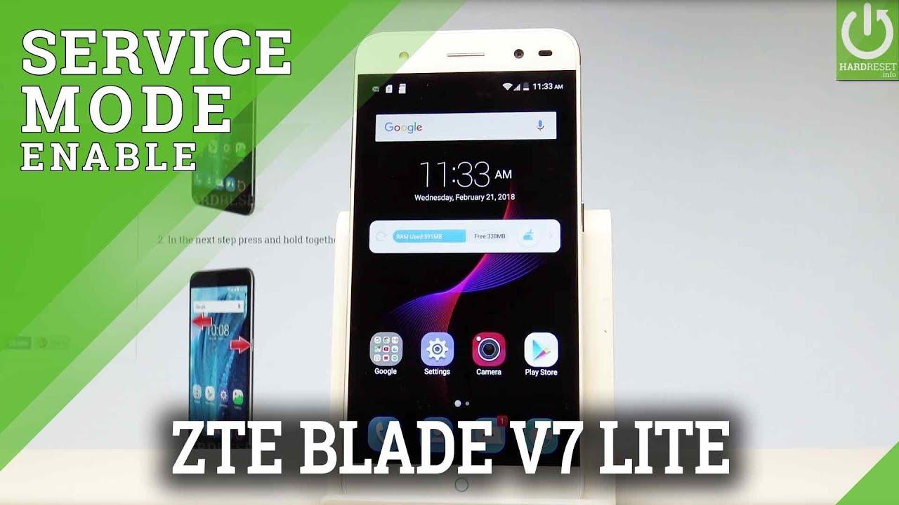 Codes in ZTE Blade V7 Lite - Hidden Mode / Secret Menu / Tricks